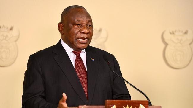 President Cyril Ramaphosa's speech
